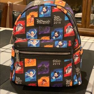 Disney D23 Expo Loungefly Backpack